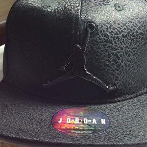 11bcbe4a45c Air Jordan Accessories - Youth Jordan elephant print logo SnapBack